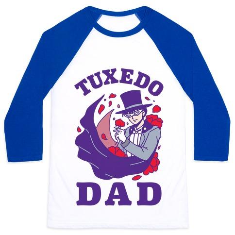 Tuxedo Dad Baseball Tee