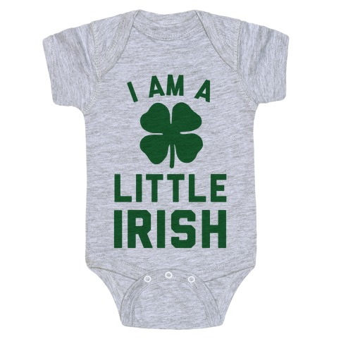 I Am A Little Irish Baby Onesy