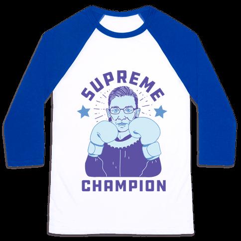 Supreme Champion RBG Baseball Tee