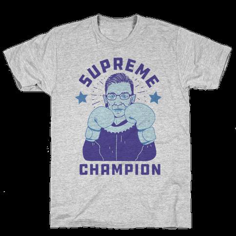 Supreme Champion RBG Mens T-Shirt