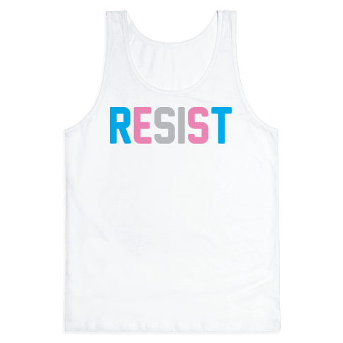 Transgender Resist Tank Top
