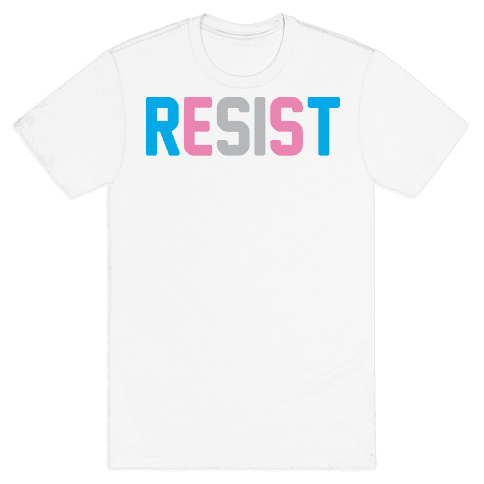 Transgender Resist Mens T-Shirt