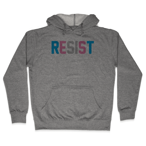 Transgender Resist Hooded Sweatshirt