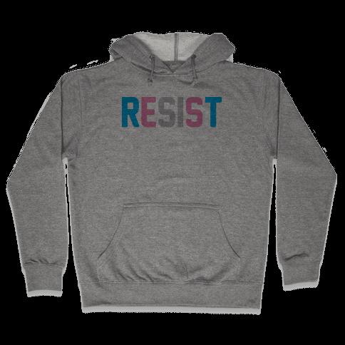Transgender Resist Hooded Sweatshirt