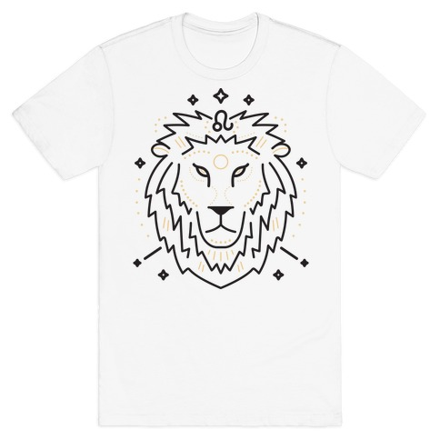 Astrology Leo Lion T-Shirt