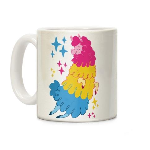 Pansexual Llama Coffee Mug