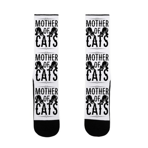 Mother Of Cats Sock