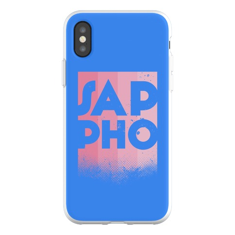 Vintage Sappho Pink Phone Flexi-Case