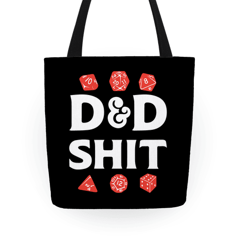 D&D Shit Tote