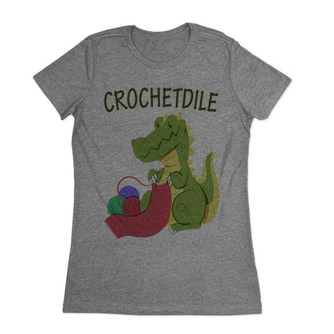 Crochetdile Womens T-Shirt