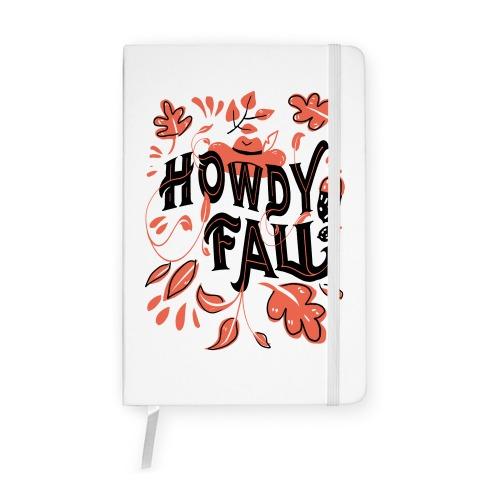 Howdy Fall Notebook