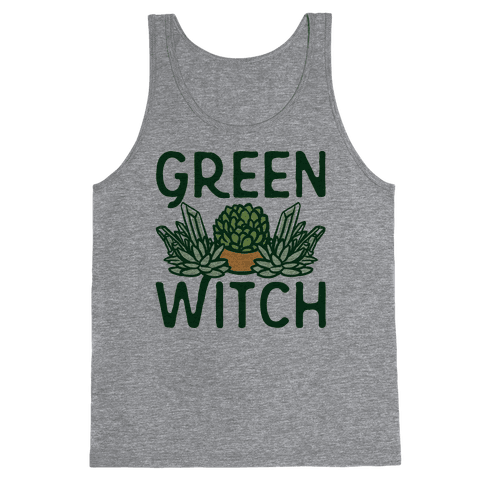 Green Witch Tank Top