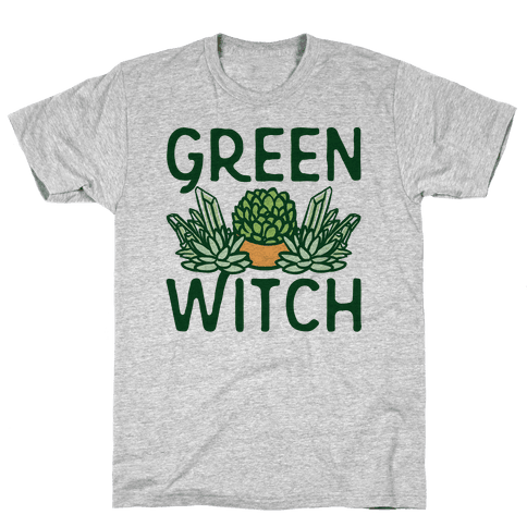 Green Witch Mens T-Shirt
