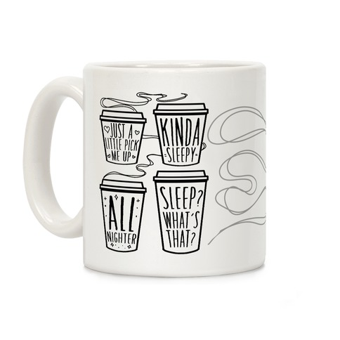 Coffee Sizes For The Restless Coffee Mug