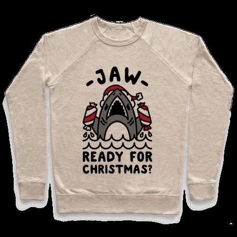 Jaw Ready For Christmas? Santa Shark Pullover