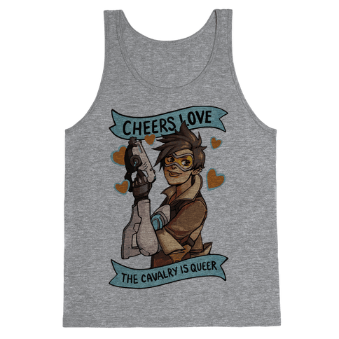 Cheers Love The Cavalry Is Queer (Illustration) Tank Top