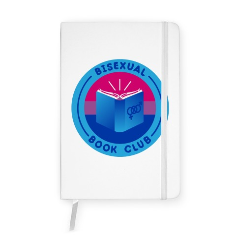 Bisexual Book Club Patch Notebook