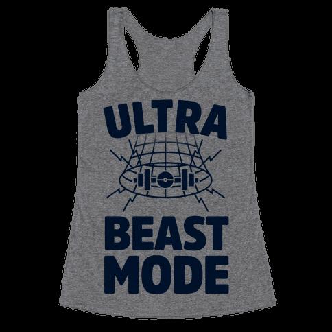 Ultra Beast Mode Racerback Tank Top