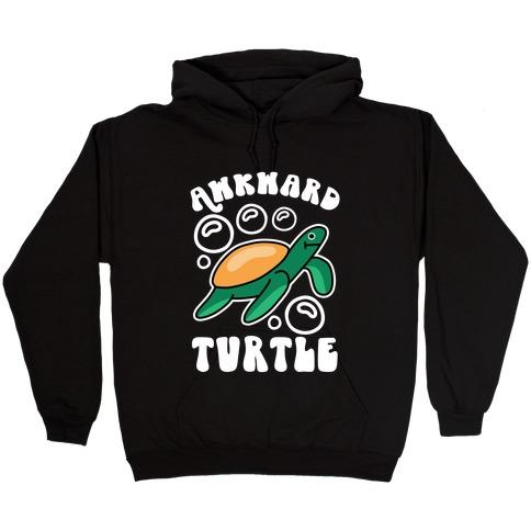 Awkward Turtle Hooded Sweatshirt