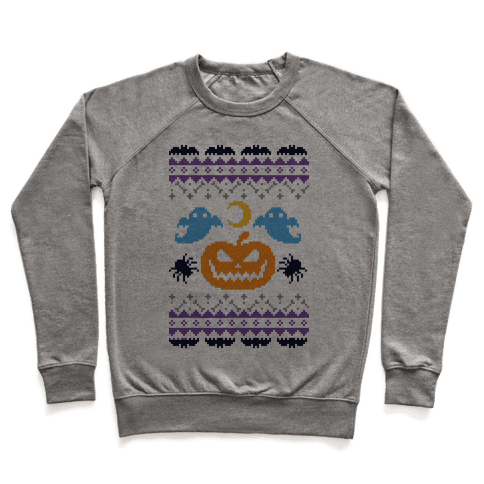 Ugly Halloween Sweater Pullover