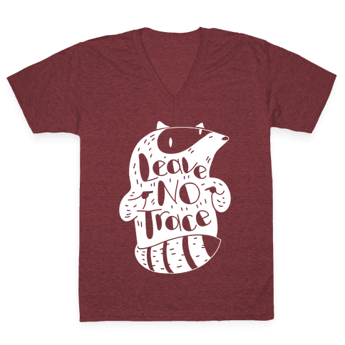 Leave No Trace V-Neck Tee Shirt