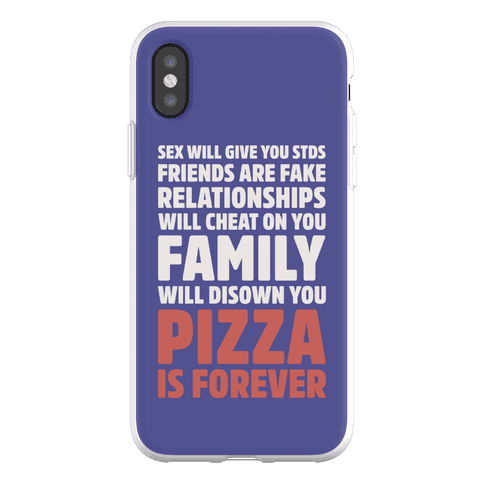 Pizza Is Forever Phone Flexi-Case