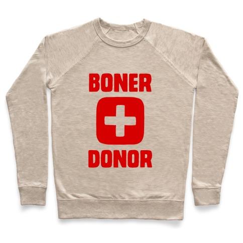 Boner Donor Pullover