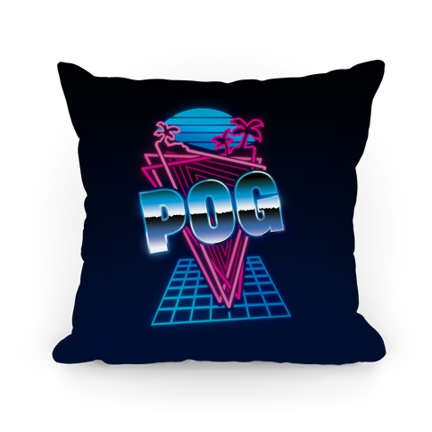 Retro Pog Pillow