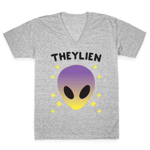 Theylien V-Neck Tee Shirt