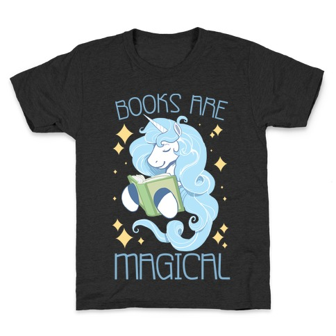 Books Are Magical Kids T-Shirt