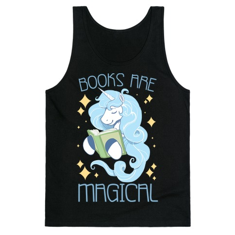 Books Are Magical Tank Top