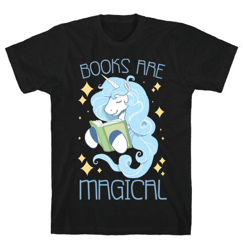 Books Are Magical Mens T-Shirt