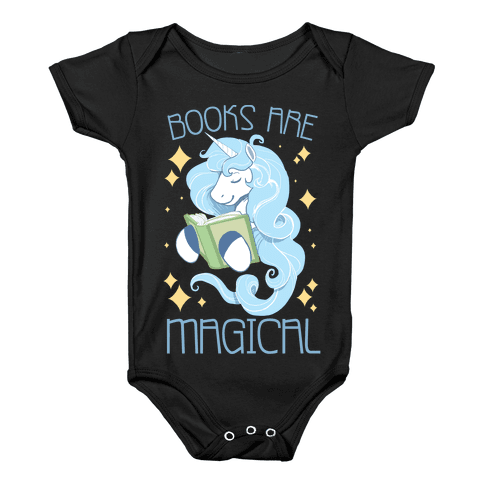Books Are Magical Baby Onesy