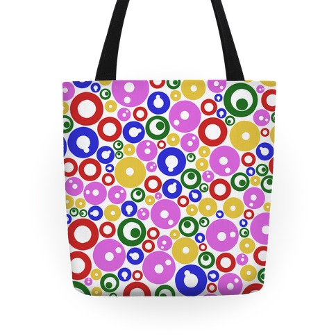 Bloobles Pattern Tote