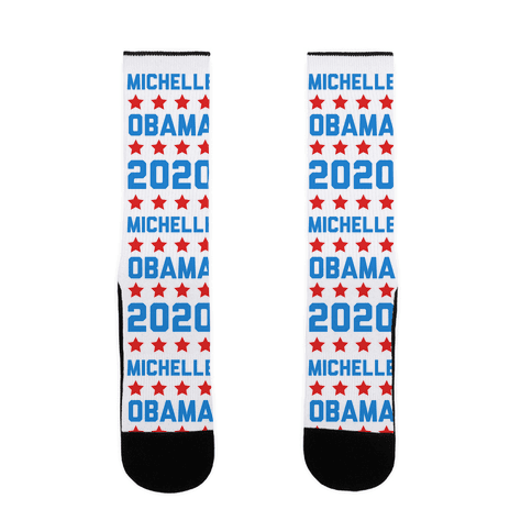 Michelle Obama 2020 Sock