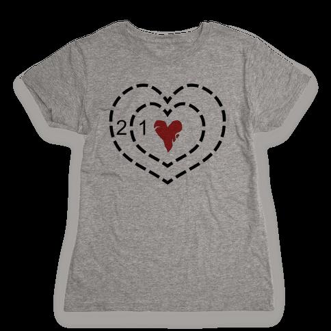 The Grinch's Heart Womens T-Shirt