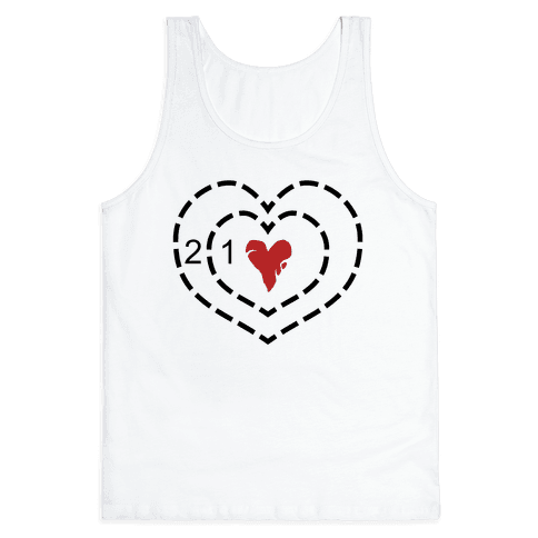The Grinch's Heart Tank Top