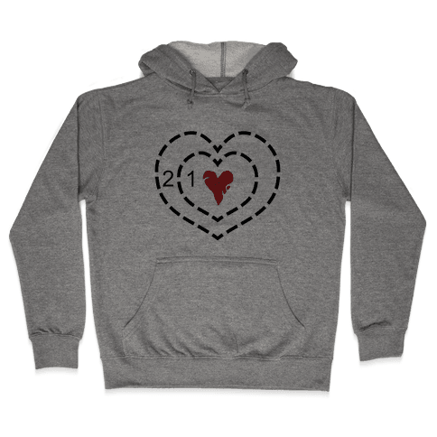The Grinch's Heart Hooded Sweatshirt