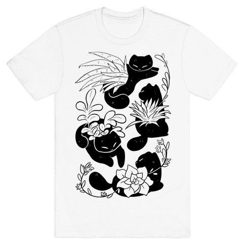 Succulent Cats T-Shirt