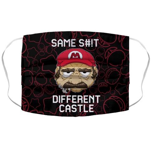 Same S#!t Different Castle Accordion Face Mask