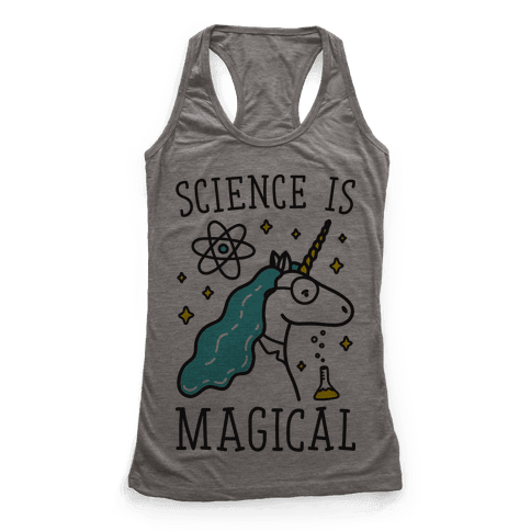 Science Is Magical Racerback Tank Top