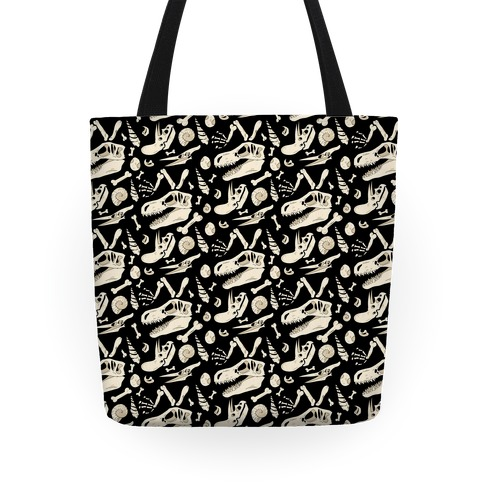 Dino Fossils Pattern Tote