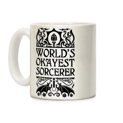 World's Okayest Sorcerer Coffee Mug