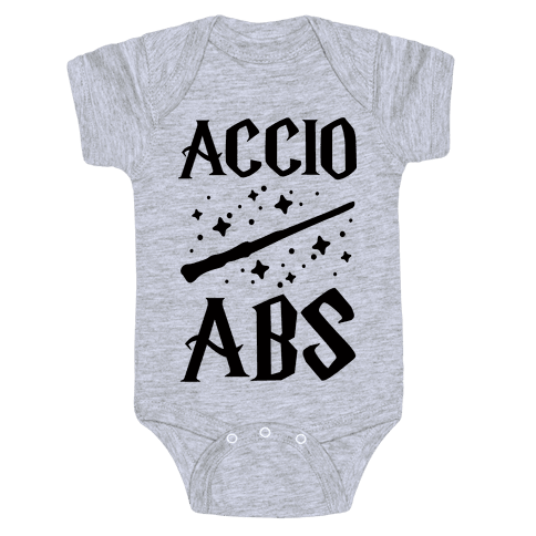 Accio Abs Baby Onesy