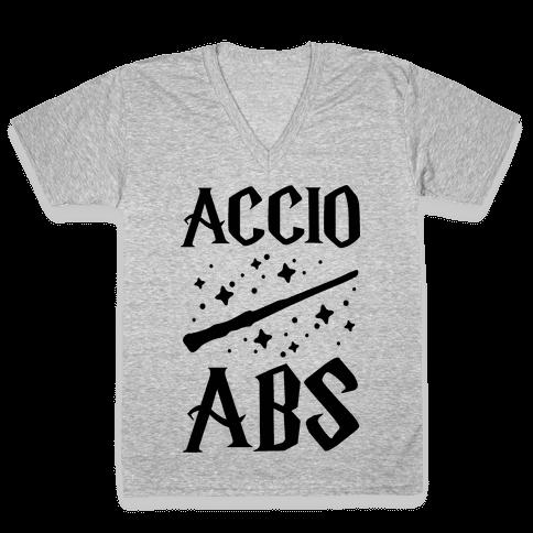 Accio Abs V-Neck Tee Shirt