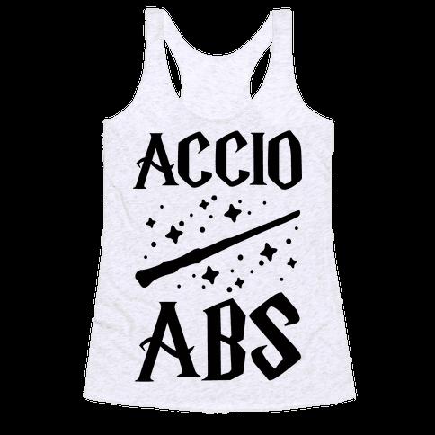 Accio Abs Racerback Tank Top