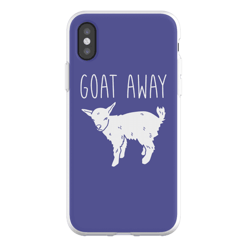 Goat Away Phone Flexi-Case