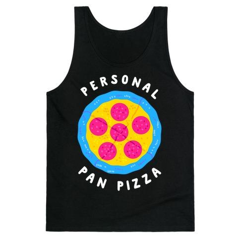 Personal Pan Pizza Tank Top