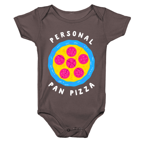 Personal Pan Pizza Baby One-Piece