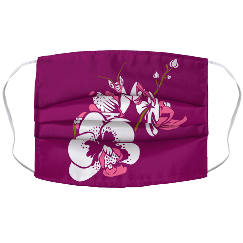 Orchid Mantis Fuchsia Face Mask Cover